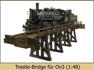Trestle-Bridge für On3 (1:48)